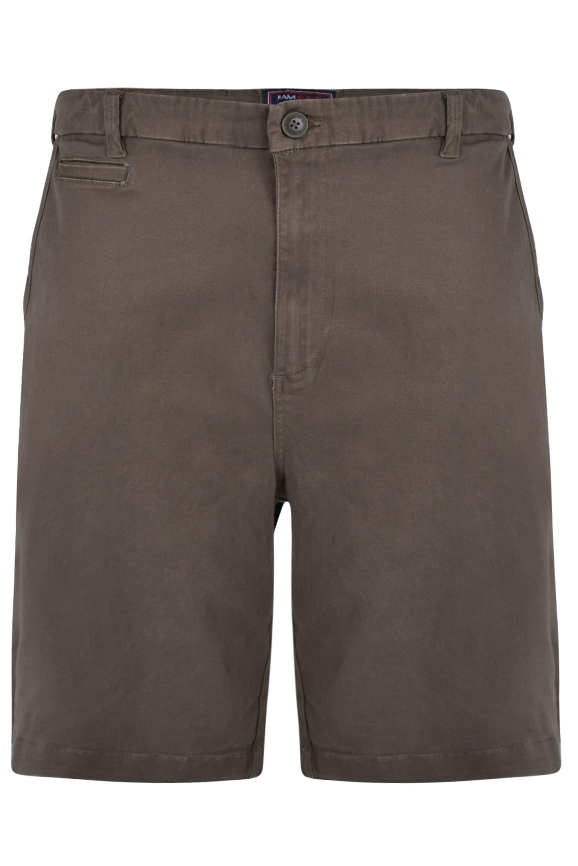 KAM Khaki Chino Shorts