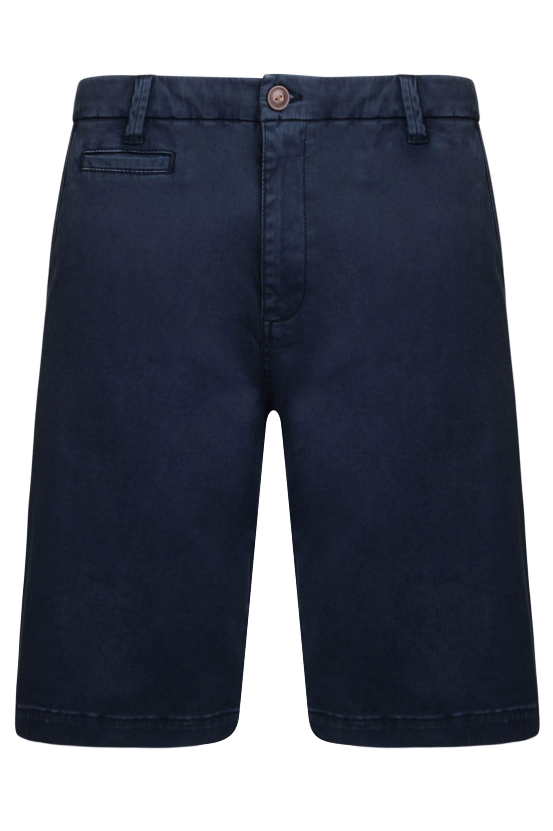 KAM Navy Chino Shorts