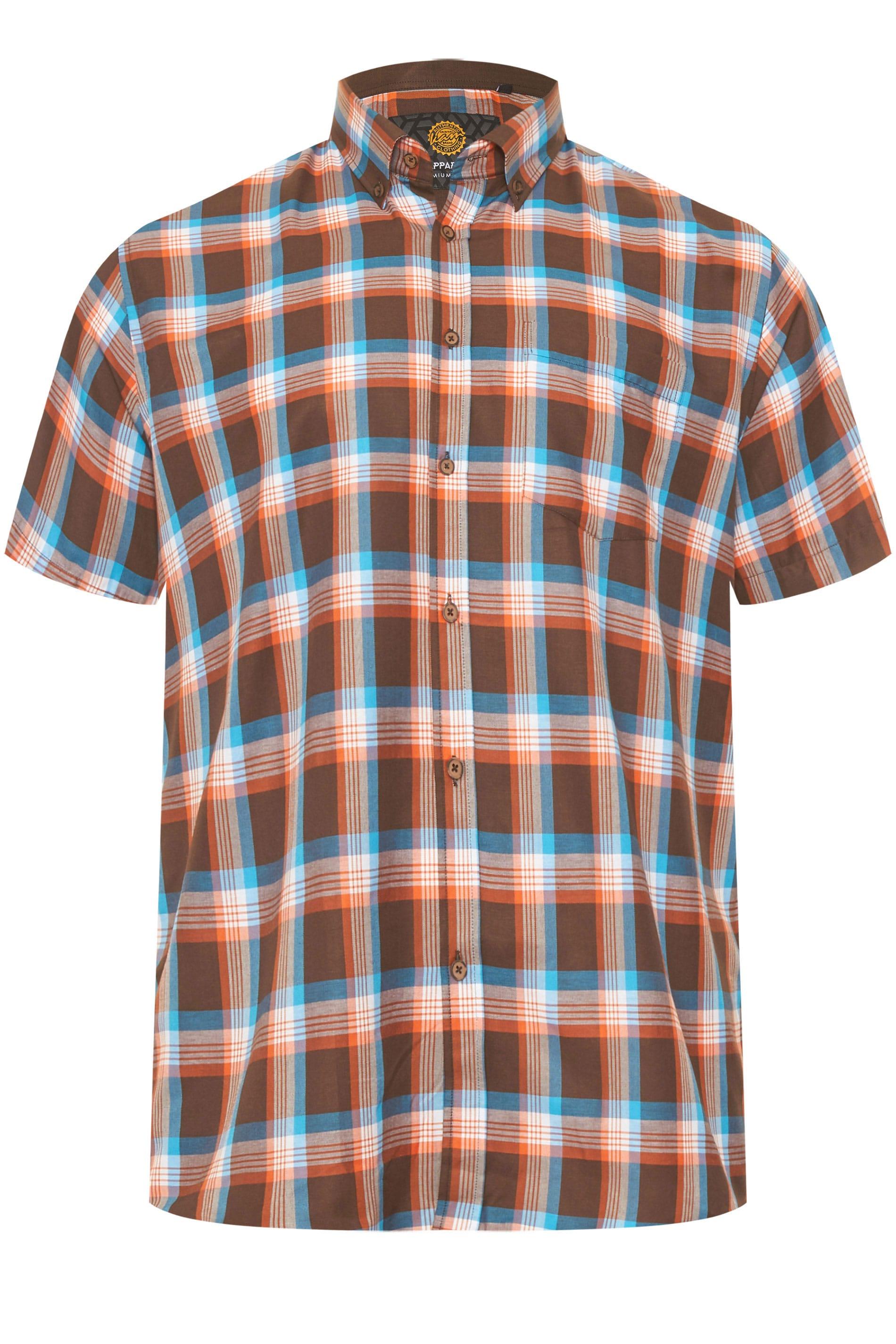 KAM Rust Check Premium Shirt