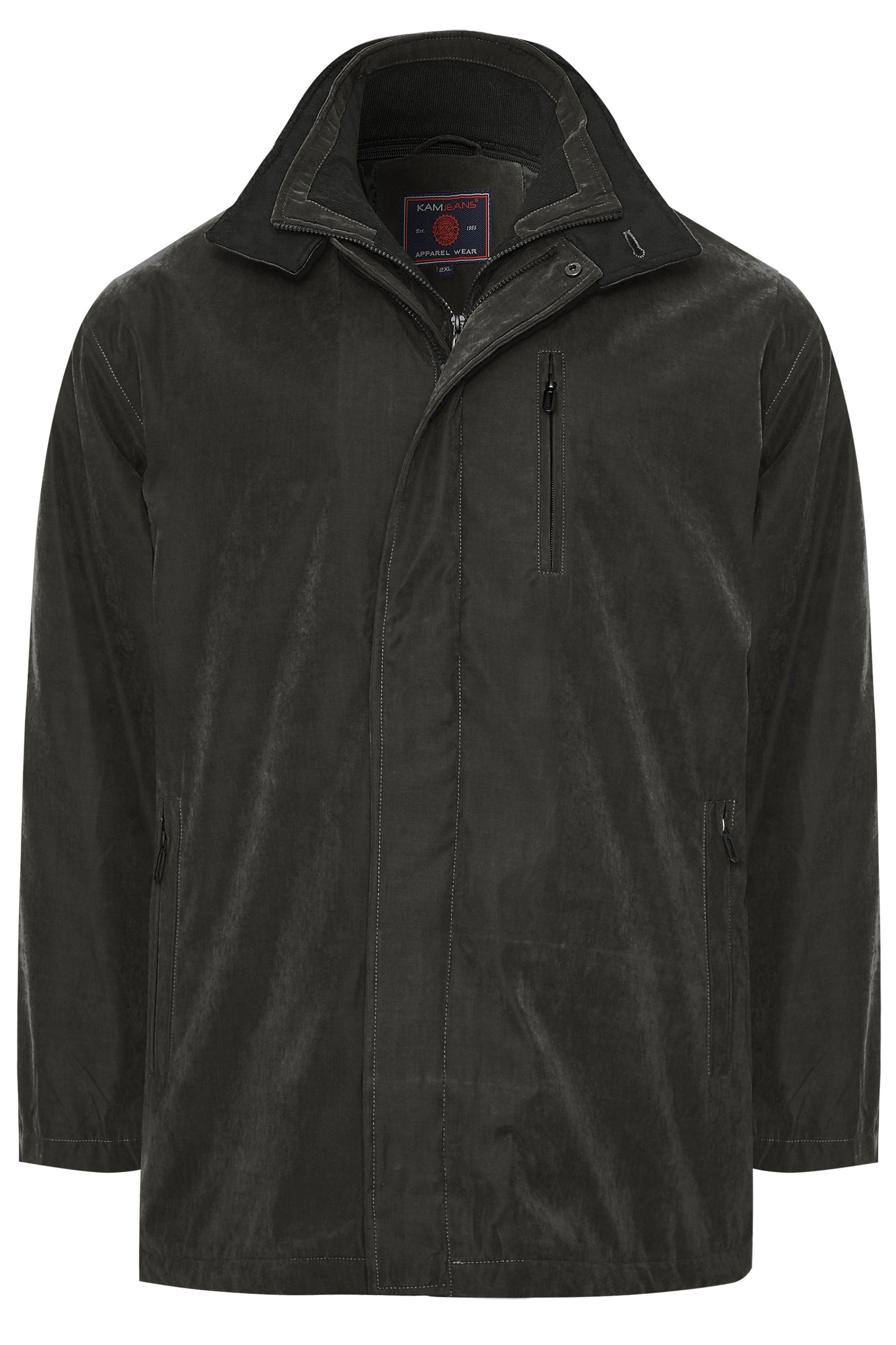 KAM Black Faux Suede Jacket