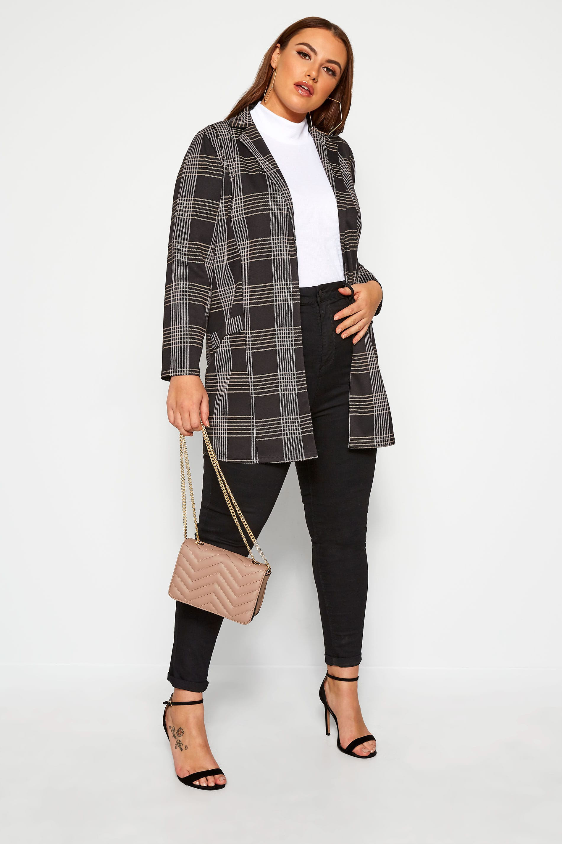 LIMITED COLLECTION Black Check Blazer