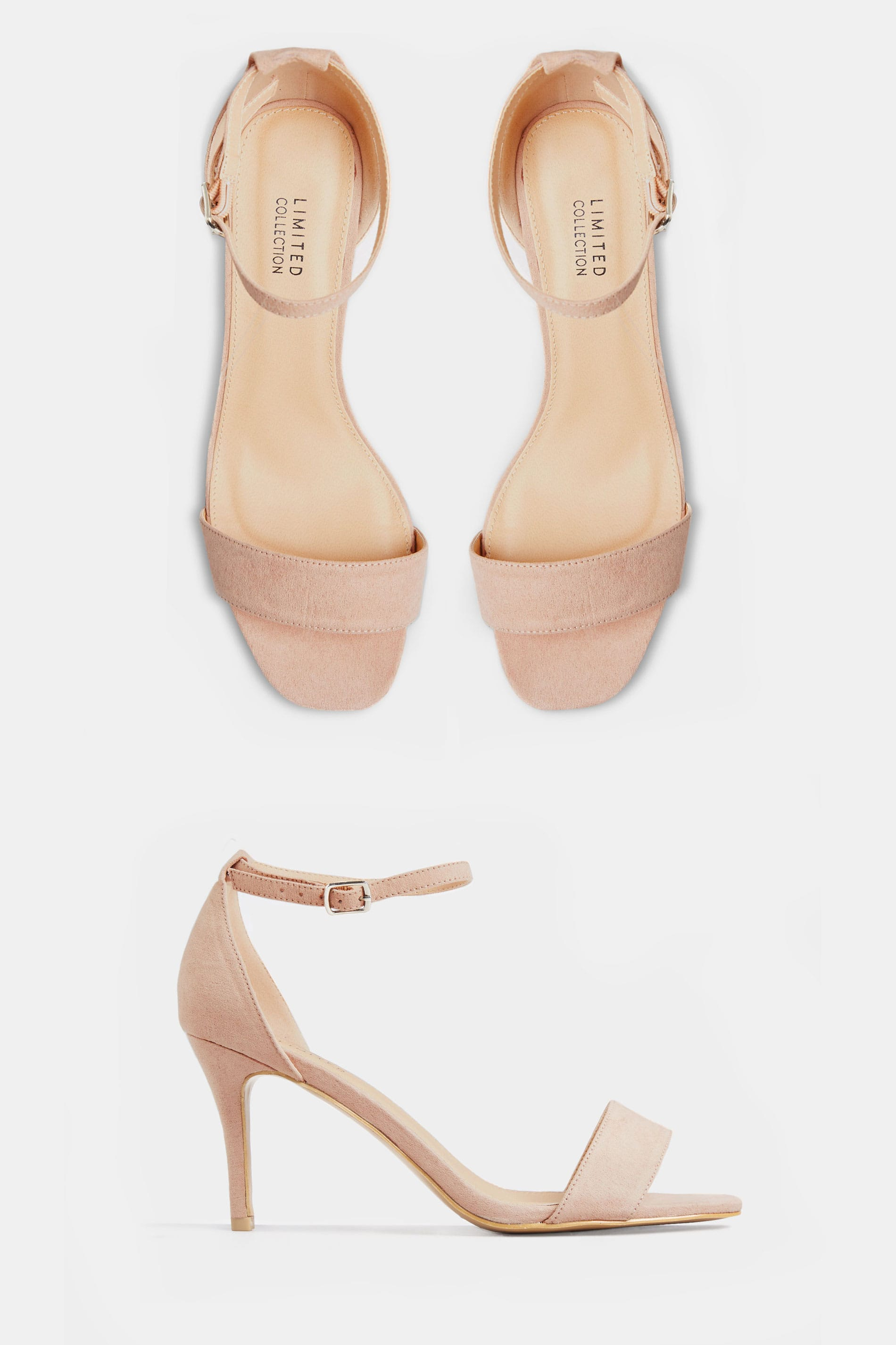 LIMITED COLLECTION Nude Strappy Heels