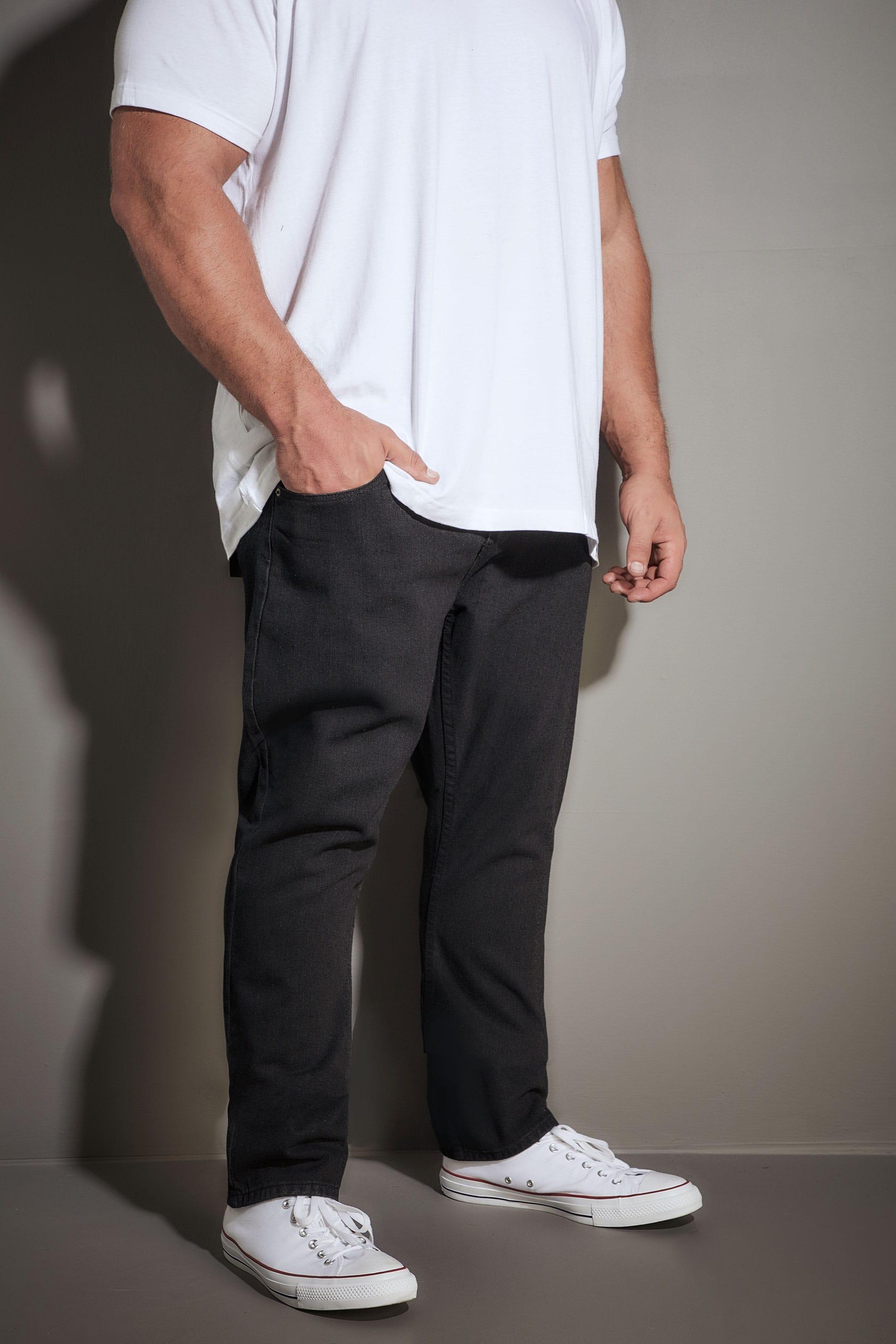 LOYALTY & FAITH Black Konfer Denim Jeans