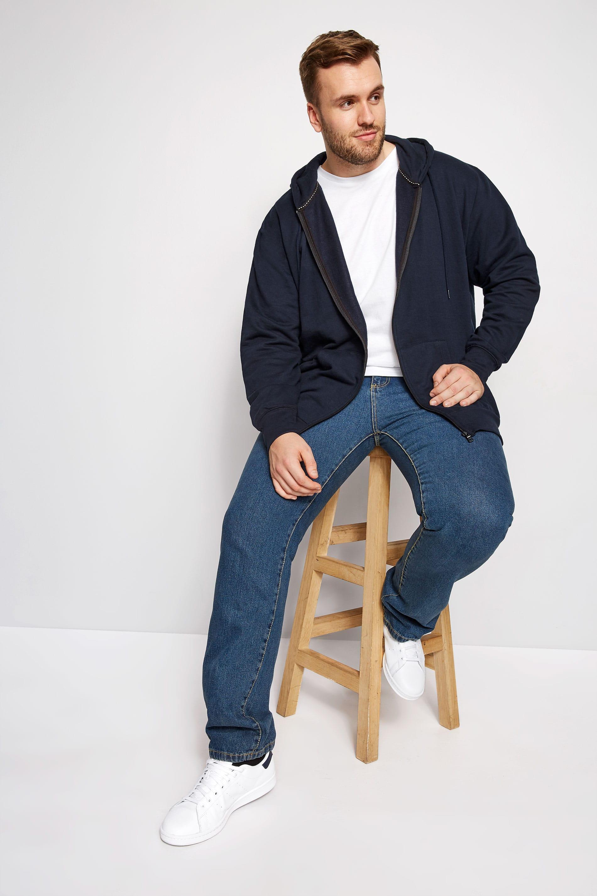 LOYALTY & FAITH Navy Poulton Sweatshirt