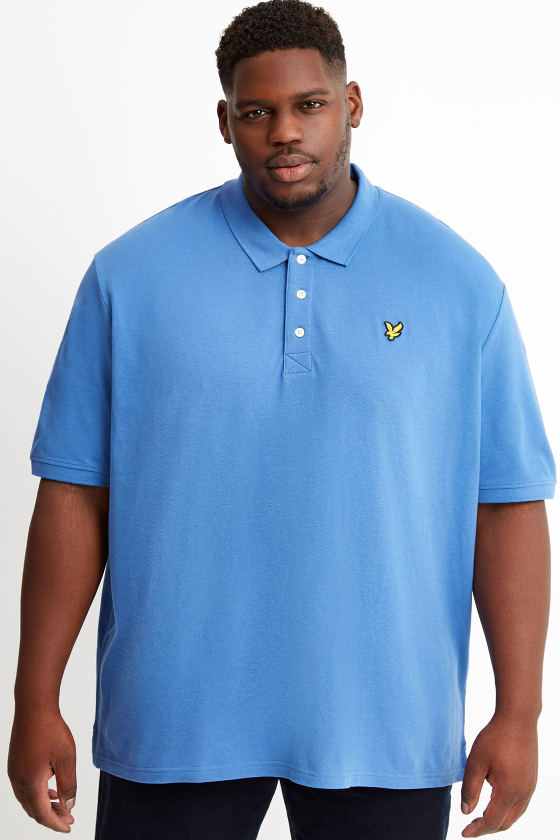 LYLE & SCOTT Blue Polo Shirt