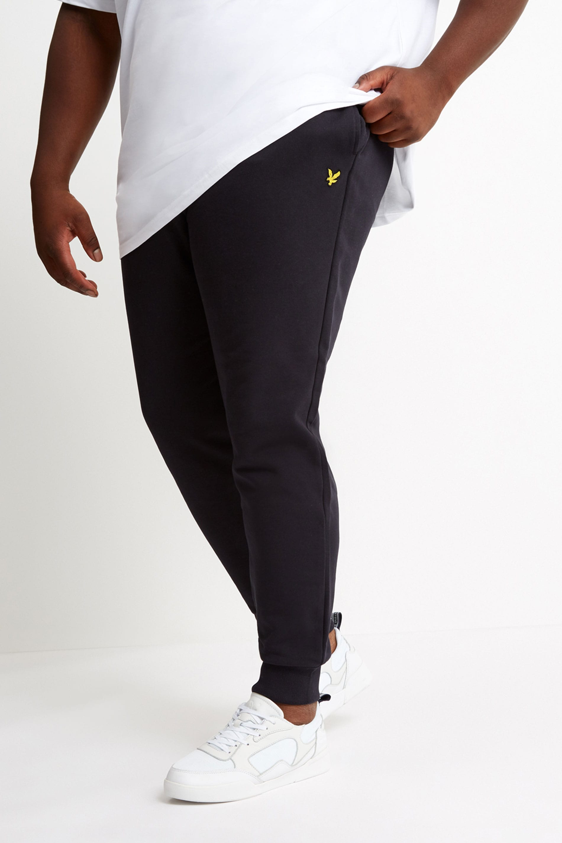 LYLE & SCOTT Black Skinny Joggers