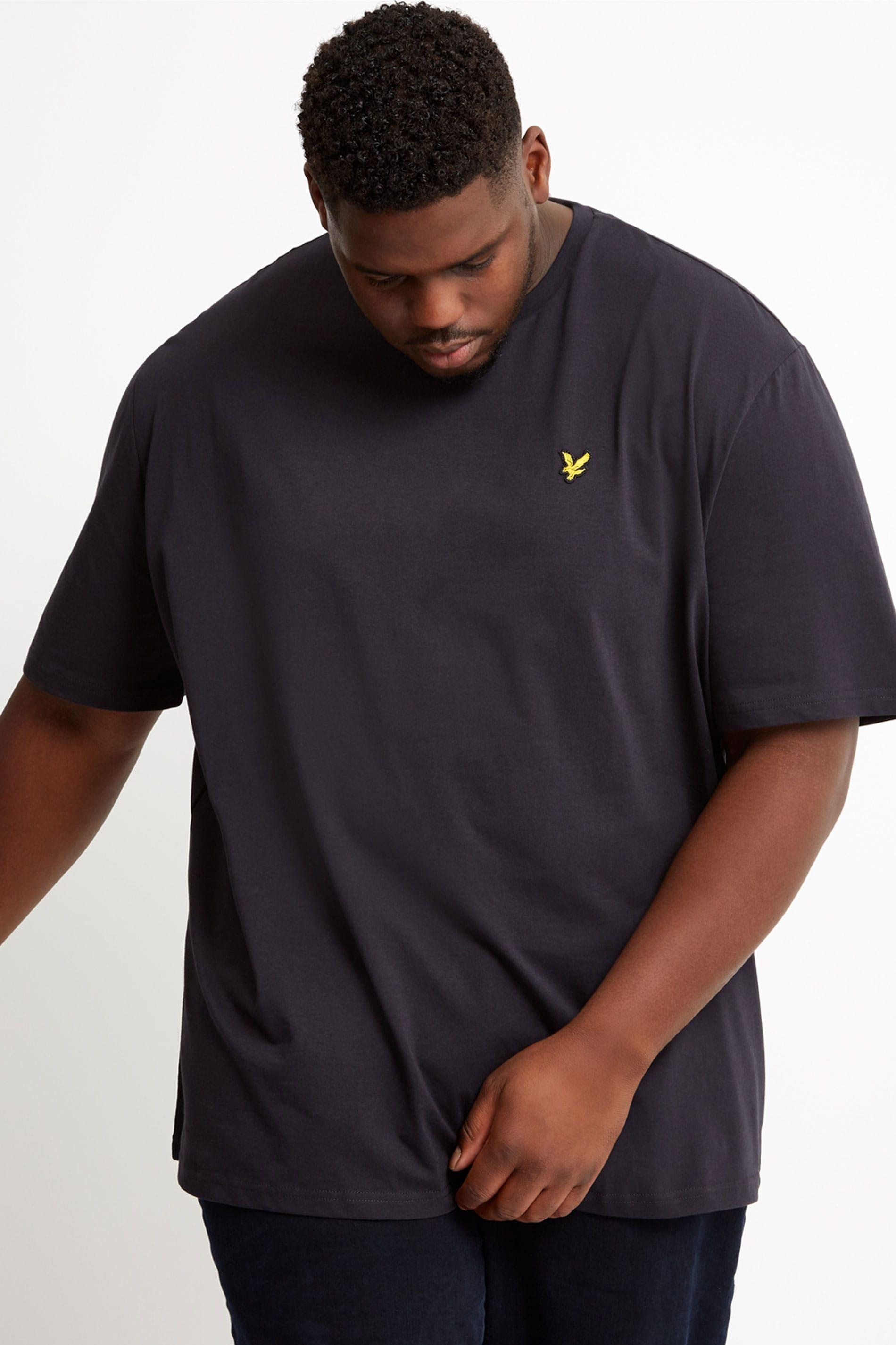 LYLE & SCOTT Navy Crew Neck T-Shirt
