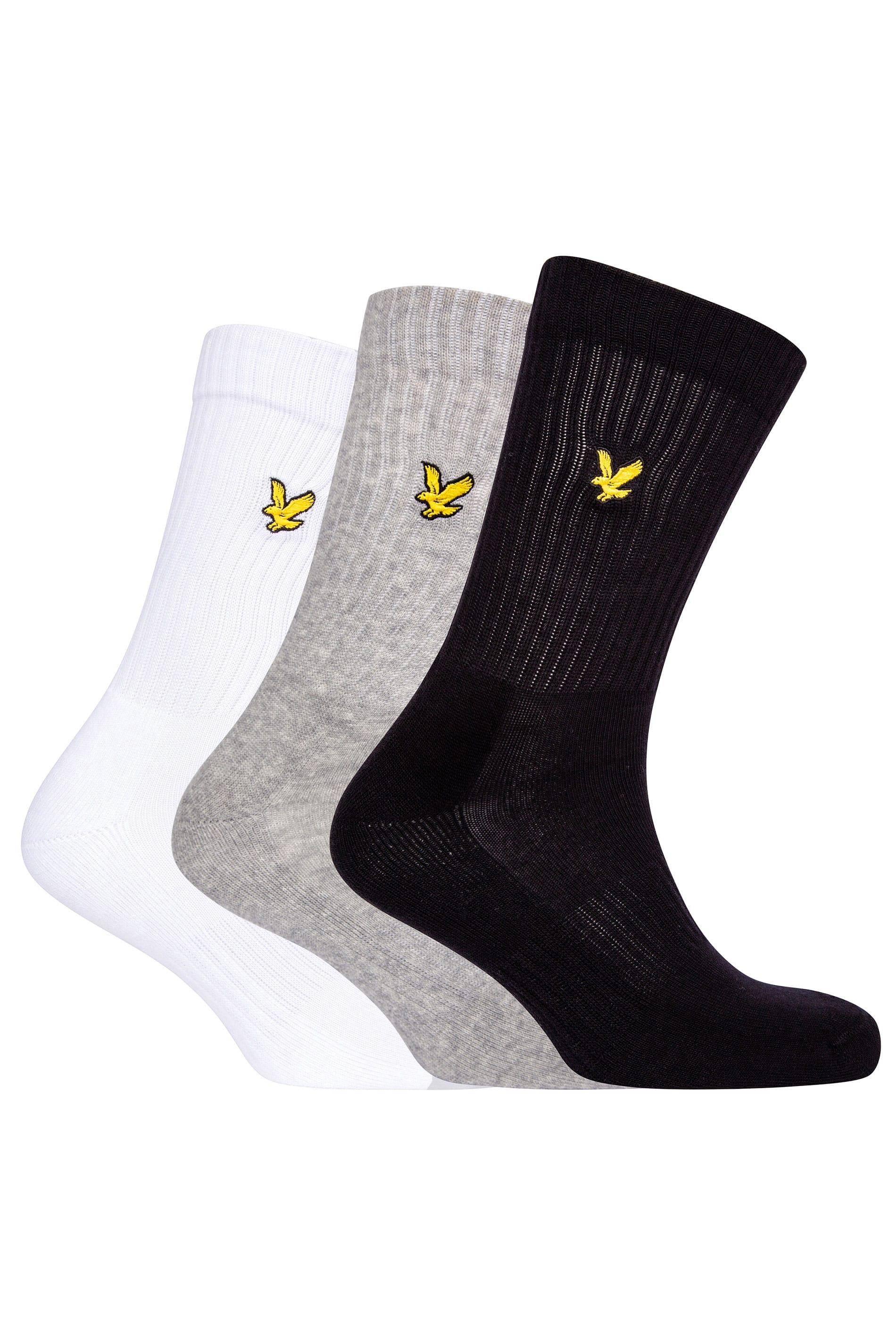 LYLE & SCOTT 3 PACK Multi Hamilton Sports Socks