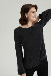 Shimmer Knot Top