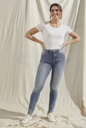 Blue Mid Wash Vintage Skinny Jeans
