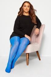 Blue 50 Denier Comfort Tights