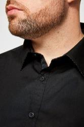 BadRhino Hemd aus Baumwolle - Schwarz