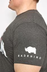 BadRhino Grey 'Ultimate Strongman' T-Shirt