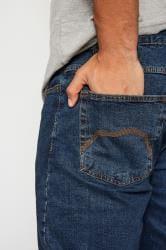 BadRhino Jeans mit geradem Bein - Indigo