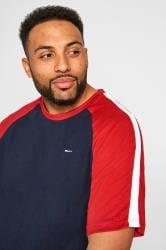 BadRhino Navy & Red T-Shirt