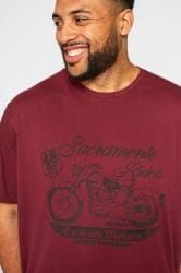BadRhino Red 'Sacramento' Graphic T-Shirt