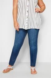 Blue Washed Ultimate Comfort Stretch JENNY Jeggings