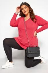 Bright Pink Cashmilon Jumper