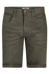 D555 Stretch-Shorts - Khaki