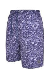 ESPIONAGE Blue Nautical Swim Shorts