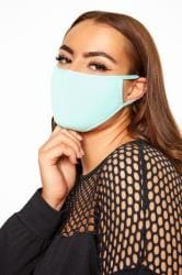 Blue Antibacterial Face Mask