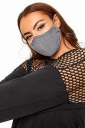 Grey Antibacterial Face Mask