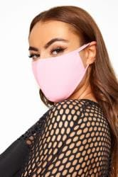 Pink Antibacterial Face Mask
