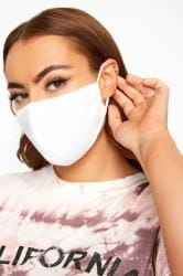 White Antibacterial Face Mask