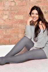 Grey 50 Denier Tights