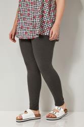 Grey Marl Full Length Leggings