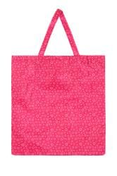 Pink Heart Fold Up Shopper Bag