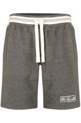 KAM Grey Jogger Shorts