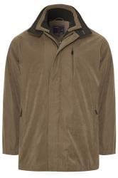 KAM Brown Faux Suede Jacket