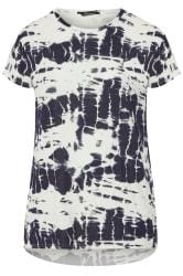 LIMITED COLLECTION Navy Tie Dye T-Shirt