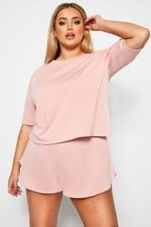 LIMITED COLLECTION Pink Lounge Top