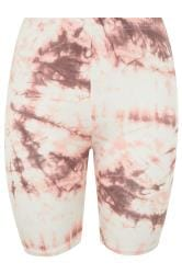 LIMITED COLLECTION Pink Tie Dye Cycling Shorts