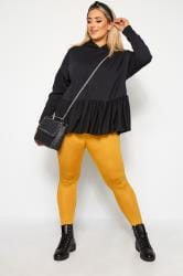 Mustard Yellow Fashion Leggings