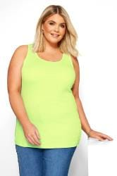 Neon Yellow Vest Top