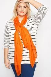 Orange Sparkle Scarf