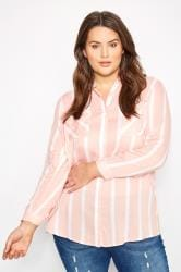 Pink Stripe Shirt