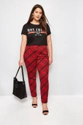 LIMITED COLLECTION Red Tartan Trouser