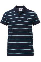 TOG24 Navy Stripe Polo Shirt