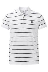TOG24 White Stripe Polo Shirt