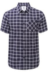 TOG24 Blue Relaxed Check Shirt