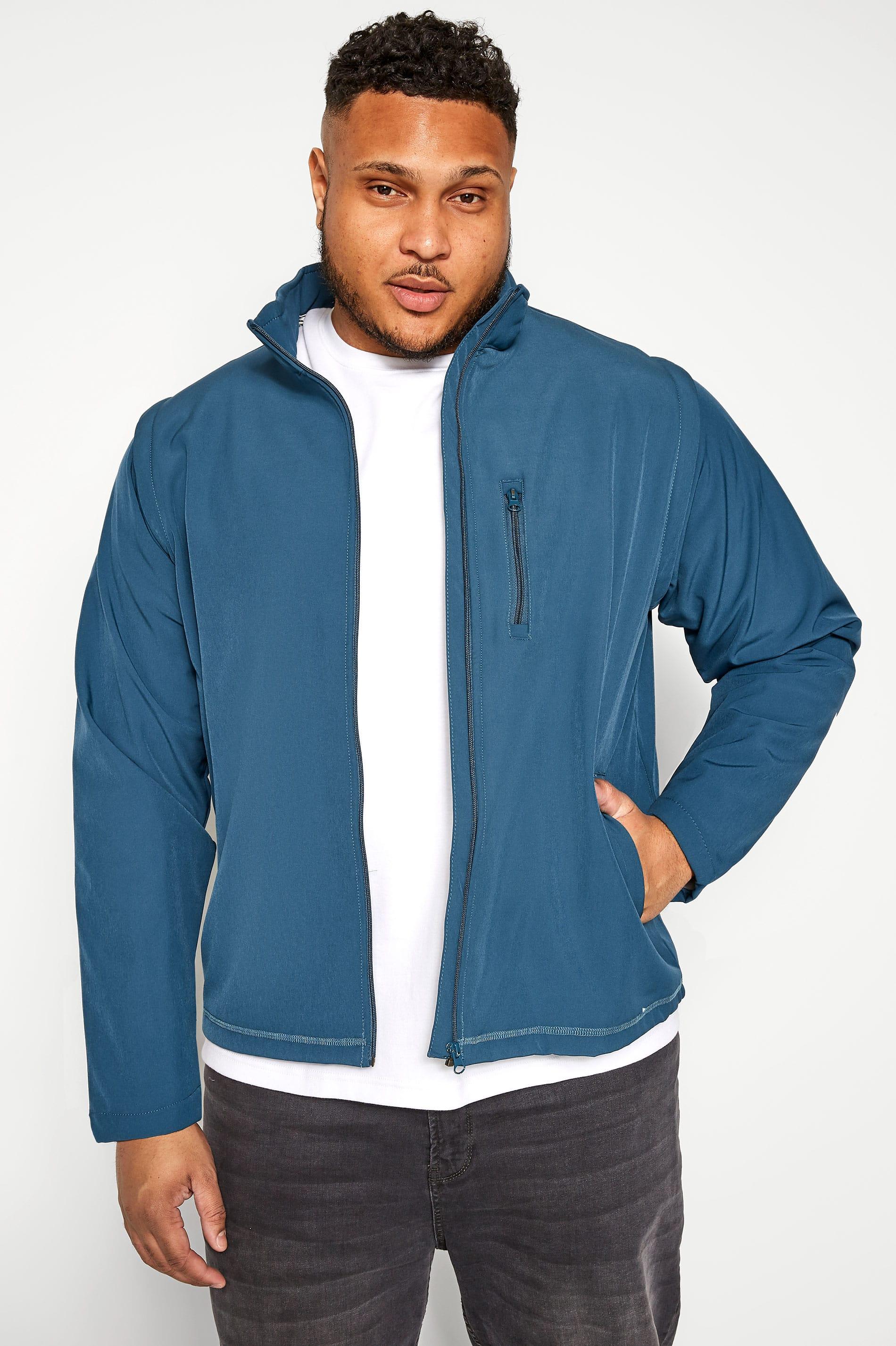 OLD SALT Blue Soft Shell Jacket