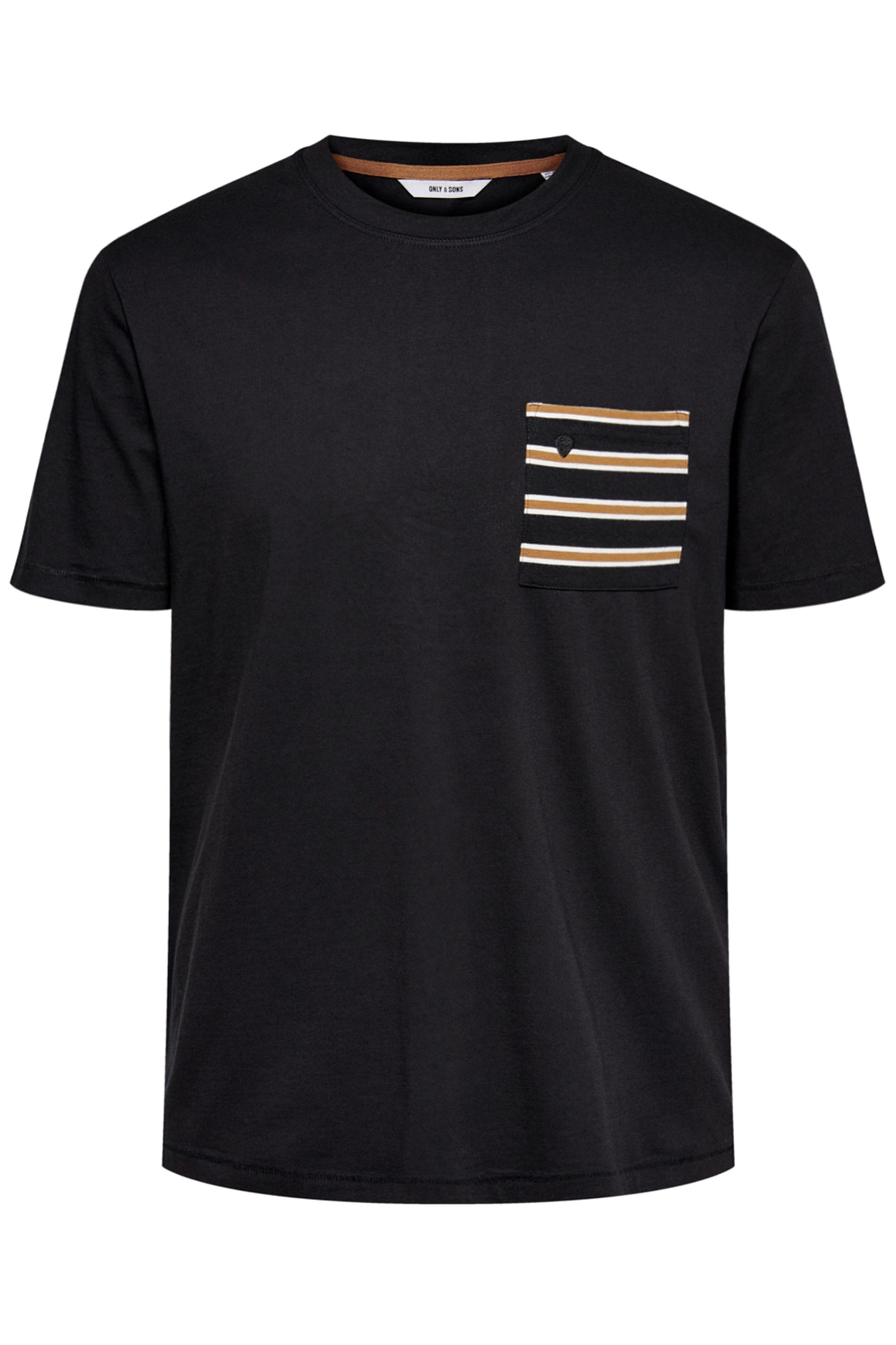 ONLY & SONS Black Pocket T-Shirt