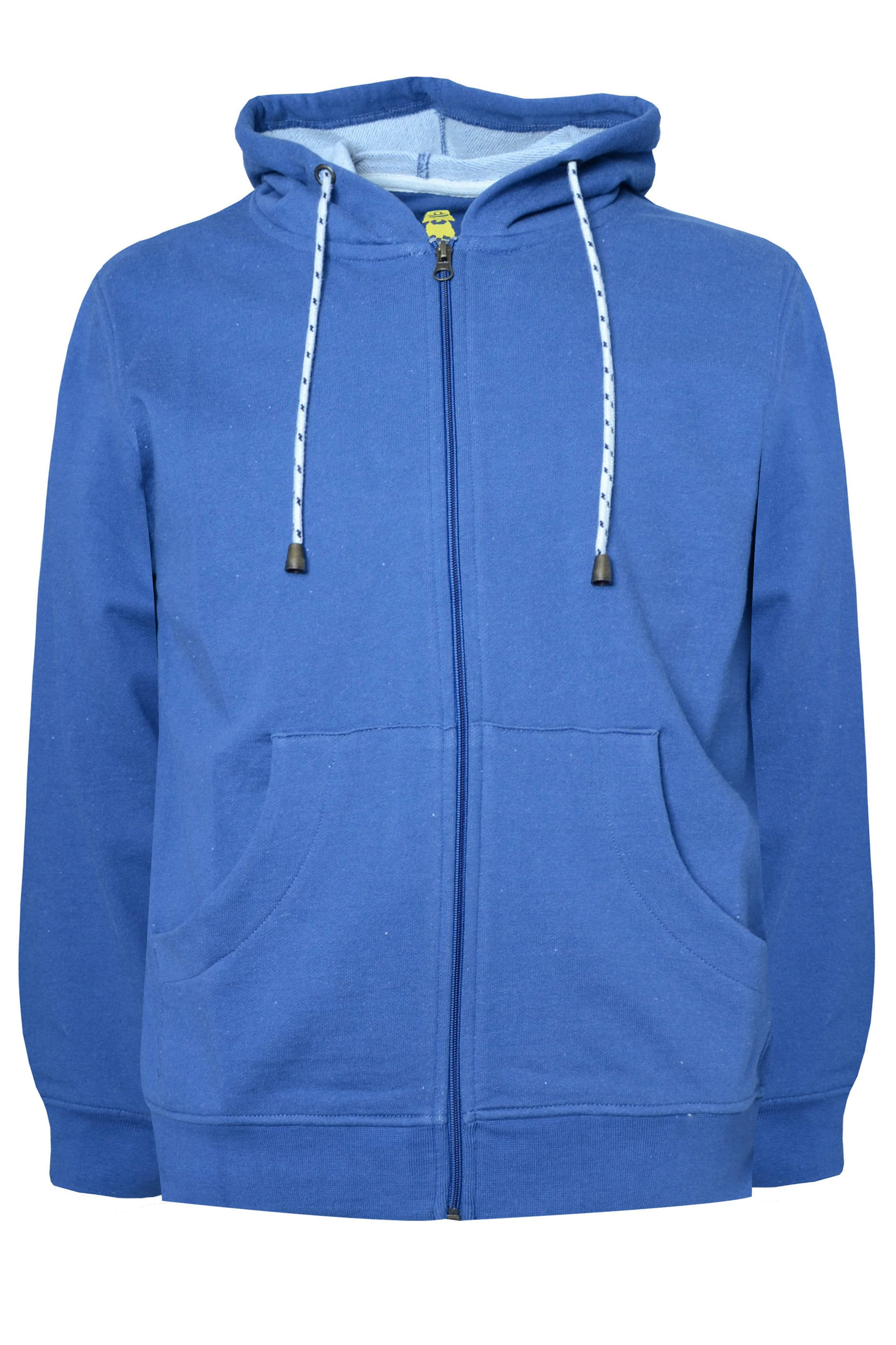 OLD SALT Blue Zip Through Hoodie