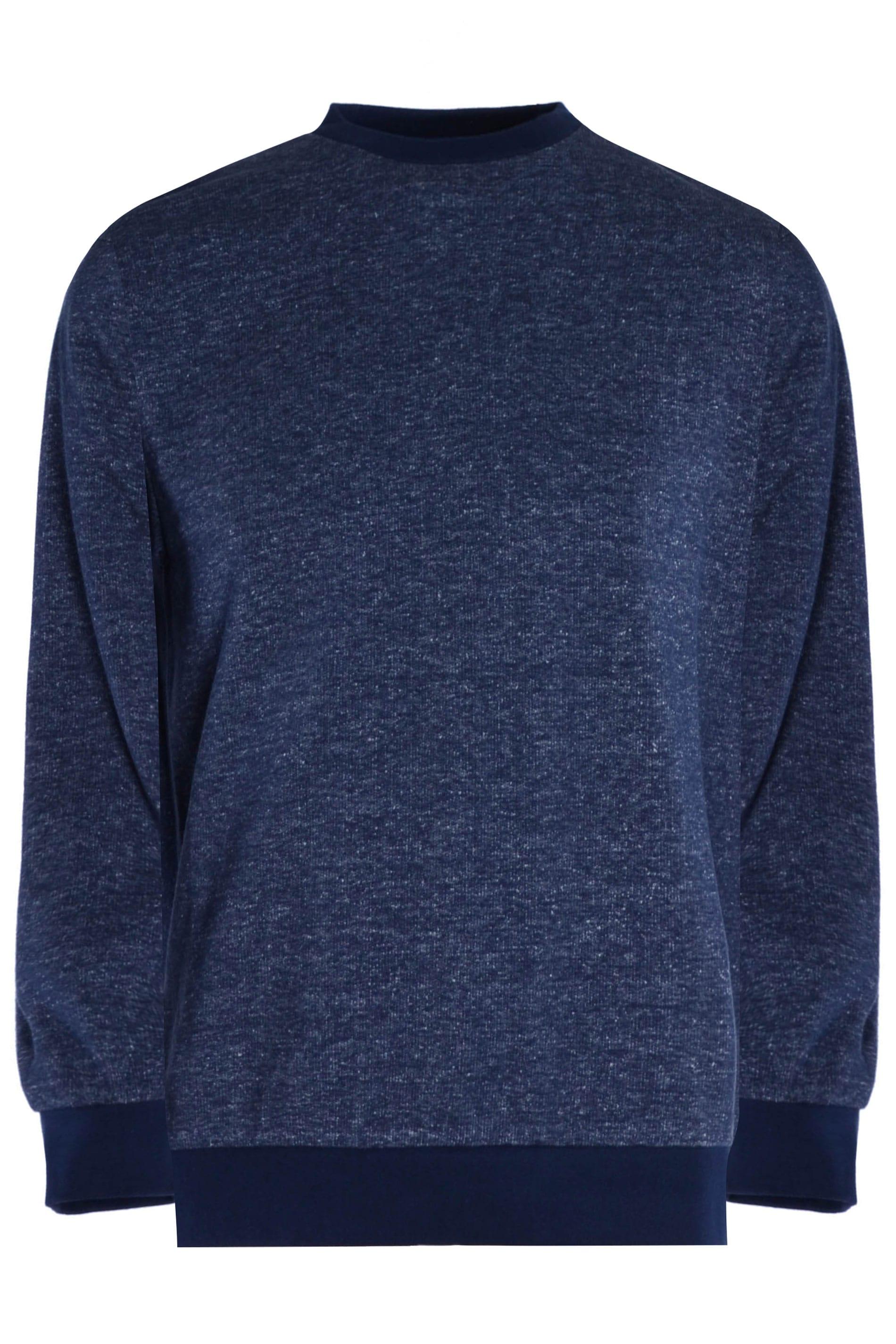 OLD SALT Navy Marl Sweatshirt