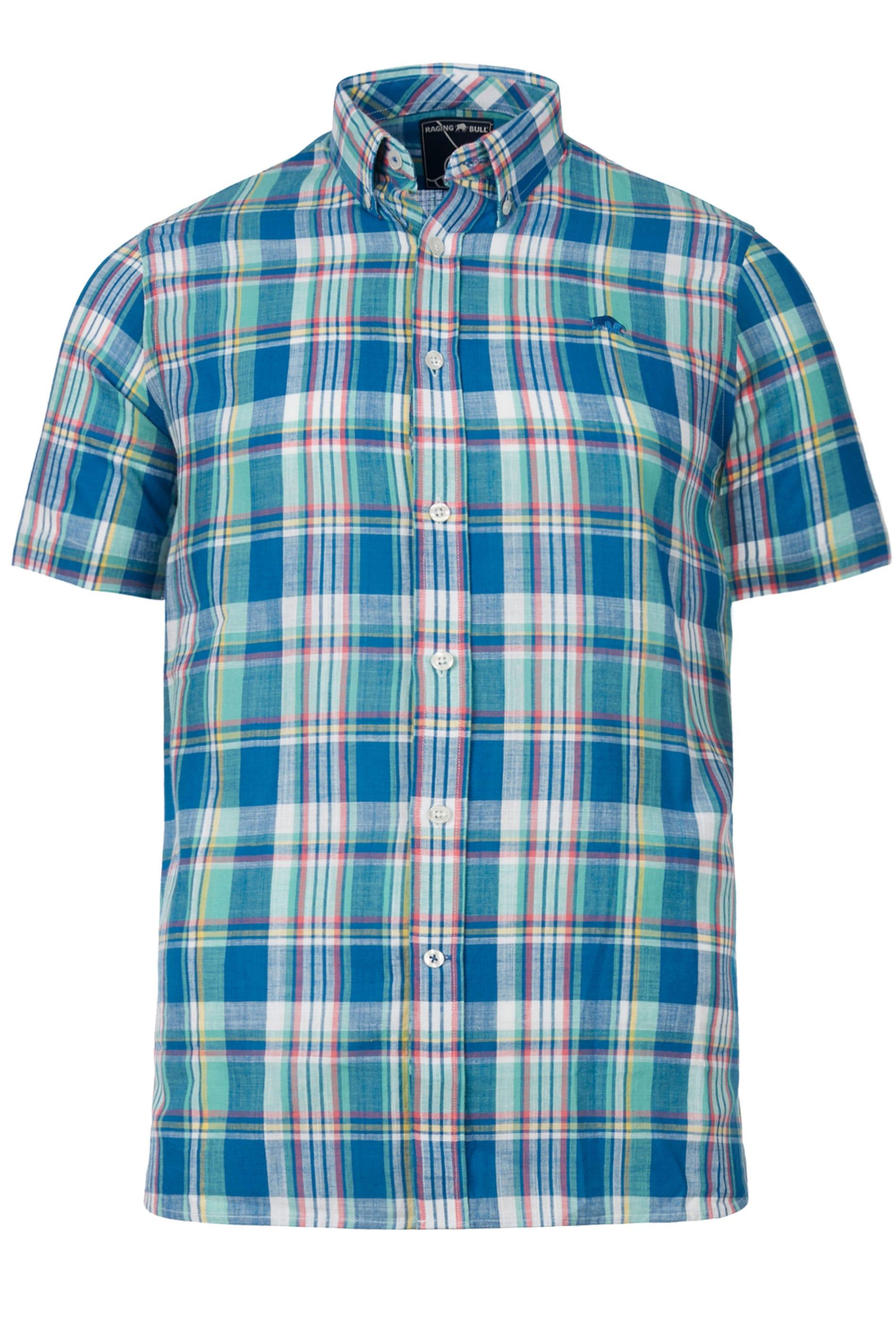 RAGING BULL Green Check Shirt_2a16.jpg