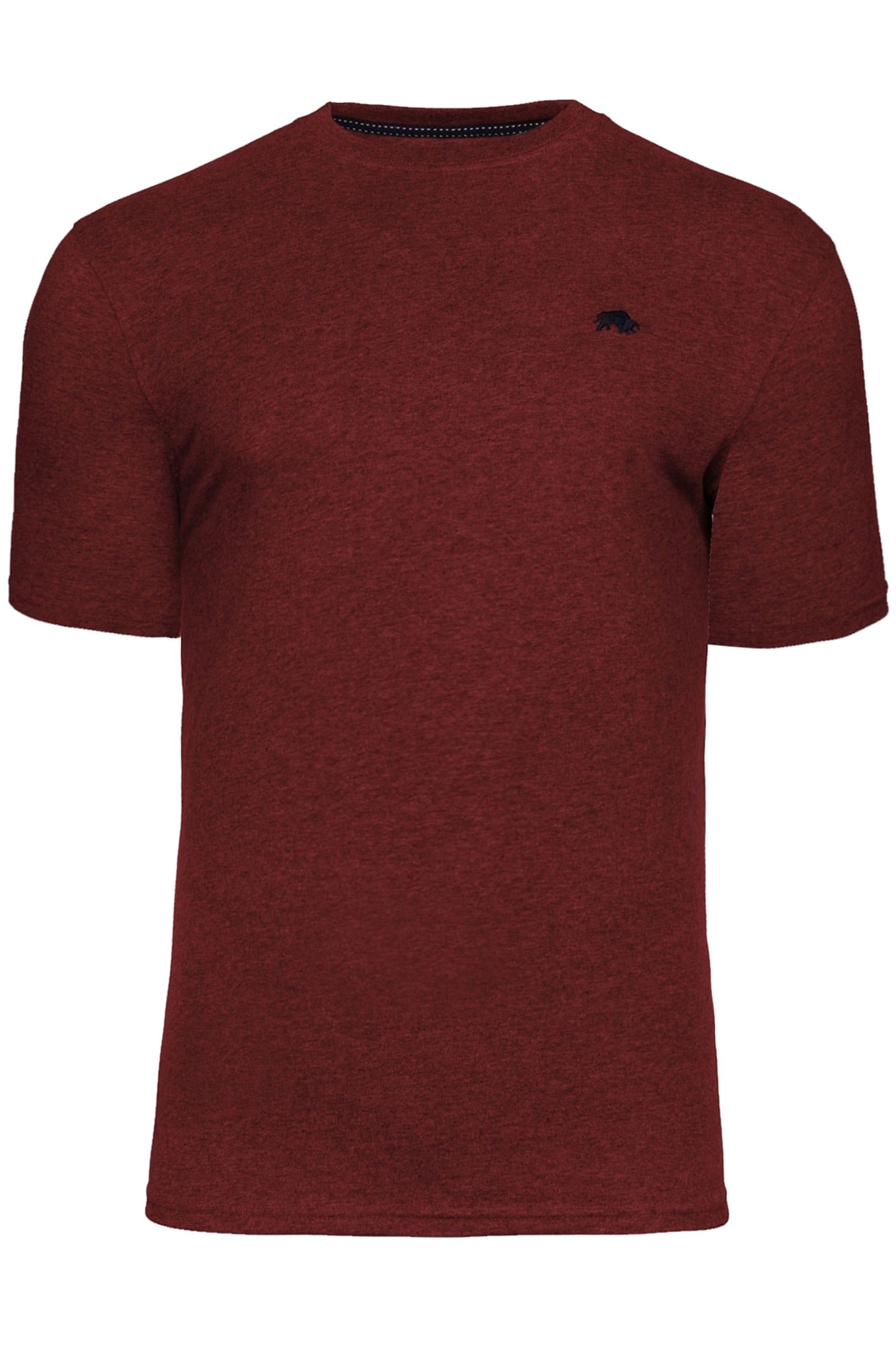 RAGING BULL Wine Red Signature T-Shirt